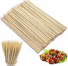 200 Bamboo Skewers Sticks 10 Inch Wooden Skewers