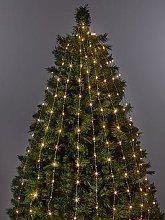 200 Led Copper Horsetail Christmas Tree Lights