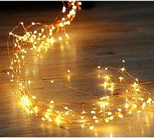 200 LEDs String Lights with 10 Strands Copper