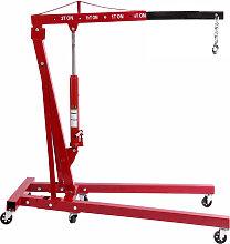 2000 kg Hydraulic Folding Workshop Engine Crane