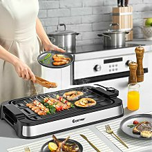 2000W Indoor Smokeless Grill Electric BBQ Griddle