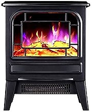 2000W Mute Fireplace Electric Heater Home Energy