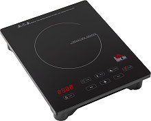 2000W Portable Single Induction Hob Cooker Hot