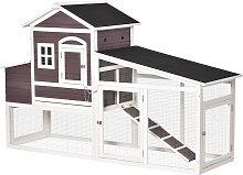 200cm Deluxe Chicken Coop Small Animal Hen House