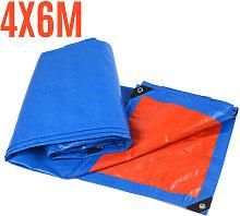 200GSM Tarp Waterproof Cover Ground Camping Tarp