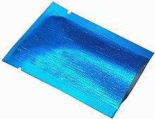 200pcs Colored Frosted Aluminum Foil Pouches Open