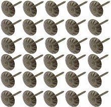 200pcs Upholstery Tacks, Antique Bronzed Metal
