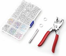 200Sets/Box 9.5mm Snap Fasteners Kit Craft Pliers