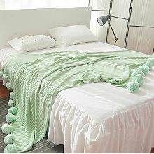 200x150cm Large Knit Throw Crochet Blanket Blanket