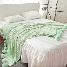 200X150Cm Large Knitted Throw Crochet Blanket