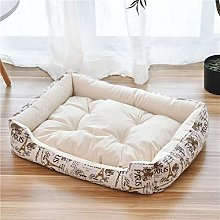 2020 baby soft large Pet Dog Bed Cat kennel Warm