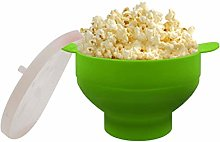 2020 New Popcorn Microwave Silicone Foldable Red