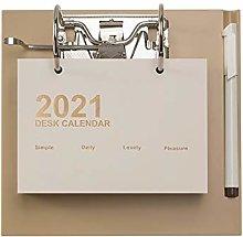 2021 Desk Calendar 2021 Calendar - Monthly Desk
