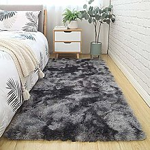 2021 Gradient Solid Carpet Thick Rugs Non slip Mat