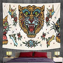 2021 home art decoration animal tapestry Bohemian