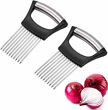 2021 New Food Slice Assistant Onion Holder Slicer,