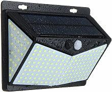 208LED Solar Power PIR Motion Sensor Wall Light