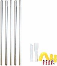 20ft 6m Long Reach Gutter Vacuum Pole Kit Set
