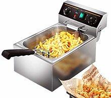 20L Deep Fryer, 10L Deep Fat Fryers with Smart