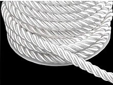20m White Twisted Cord Ø7mm, Cords and Blinds