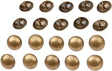 20Pcs Antique Brass Upholstery Nail Jewelry Gift