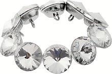 20pcs Diamond Crystal Upholstery Sofa Headboard