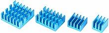 20PCs Heat Sink 6063-T5 Extruded Aluminum Profile