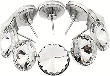 20pcs Knobs for Chest of Drawers Crystal