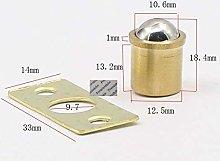 盛世汇众 20Pcs/Lot Solid Brass Built-in Ball