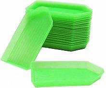 20Pcs Plastic Bead Sorting Trays Box DIY Diamond