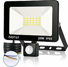 20W Outdoor Lights LED Motion Sensor Floodlight