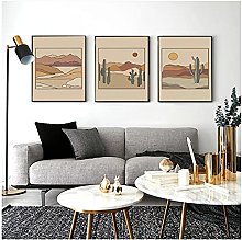 20x30cm x3Pieces NO Frame canvas wall art for