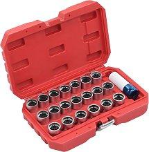 21 Piece Wheel Lock Tool Set for VAG9015-Serial
