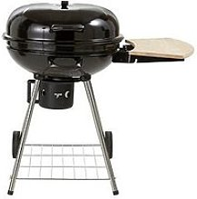 22 Inch Kettle Grill Charcoal Bbq With Side Table