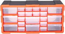 22 Multi Drawer Parts Storage Cabinet Unit