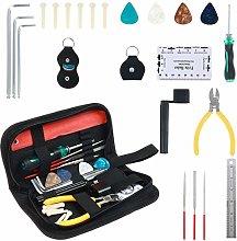 22 Pieces Guitar Repairing Maintenance Tool Kit