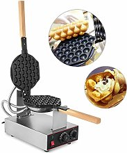 220V 1400W Bubble Waffle Maker Stainless Steel Egg