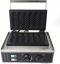 220V 1500W 6 Units Commercial Nonstick Electric