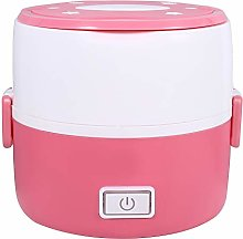 220V 2 Layers Electric Heated Lunch Box, Portable