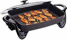 220v Compact & Portable Non-Stick BBQ Grill, 1500W