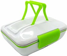 220V Electric Heated Lunch Box Portable Stainless
