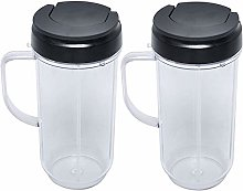 22oz Blender Cups Replacement for Magic Bullet,