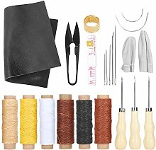22Pcs Leather Repair Upholstery Sewing Kit Leather