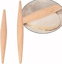 23 cm / 28 cm dough roller, wood non-stick double