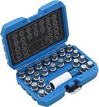23 Piece Rim Lock Socket Set for VAG
