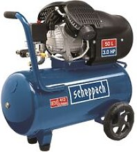 230V Air Compressor Oil-Lubricated 50Lt Double