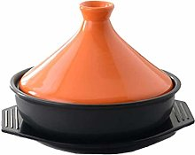 23Cm Tagine Pot for Cooking, Lead Free Ceramic