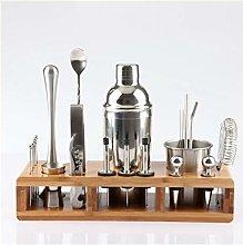 23pcs Stainless Steel Cocktail Shaker Set Barware