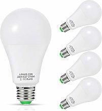 23W LED Bulb E27, LOHAS LED Edison Screw Bulbs,