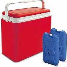 24 L Handheld Cooler Wayfair Basics Finish: Red